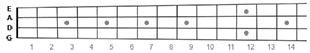 mandolin fretboard, music theory lessons
